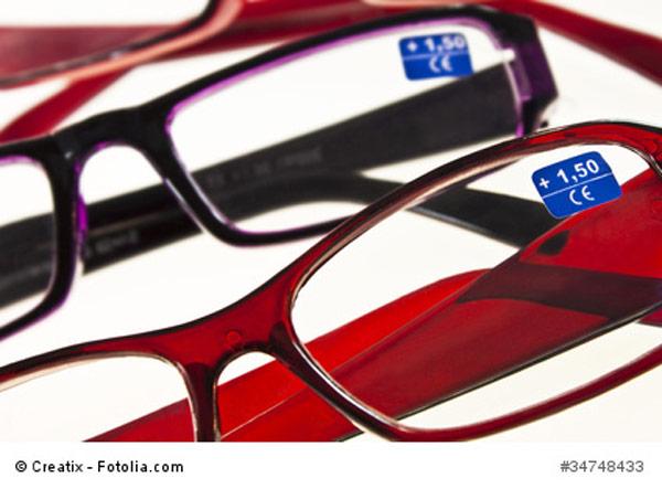 günstige Brille - Lesehilfe